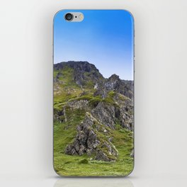 Adventure in The Mountains - Summer Scene #decor #society6 #buyart iPhone Skin