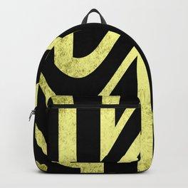 Old School Tie Backpack