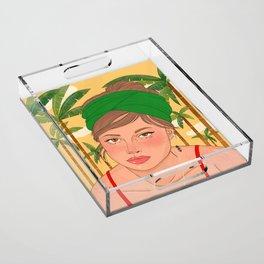 Sol Acrylic Tray