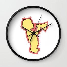 Calling childhood Wall Clock