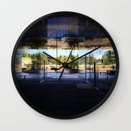 New Area in Morning Light Wall Clock