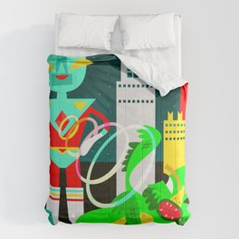 Space Invaders Comforters
