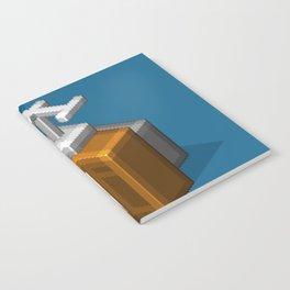 Retro TV television pixel art Notebook