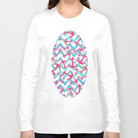 anchors Long Sleeve T-shirts featuring Anchors Confusion by Girly Trend