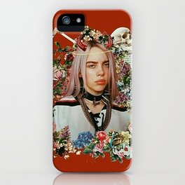 Billie Eilish Graphic Artwork iPhone Case