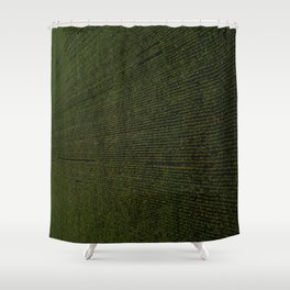 Rural Corn Fields Shower Curtain
