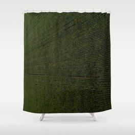 Rural Corn Fields Shower Curtain
