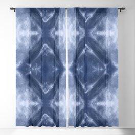 Indigo Diamond Blackout Curtain
