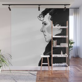 Sherlock by Sketchy Reputation Wall Mural
