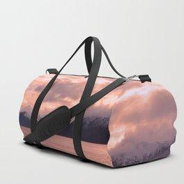 Rose Quartz Over Hope Valley Duffle Bag