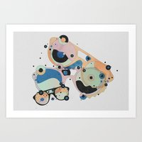 glass Art Prints featuring Glass by Amy Martino