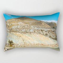 Landscape desert in Almeria, Andalusia, Spain Rectangular Pillow