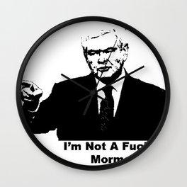 not mormon Wall Clock
