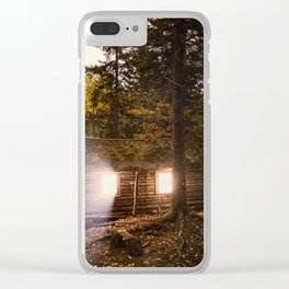 Light of the Cabin Clear iPhone Case