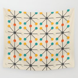 Midcentury Pattern 02 Wall Tapestry