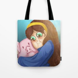 Mable and Waddles Tote Bag