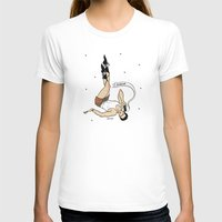 dale cooper T-shirts featuring Special Agent Dale Cooper ~ Gravity Boots 2.0 by Emma Munger