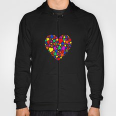 Rainbow Heart Hoody