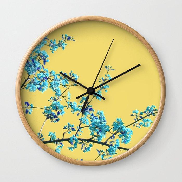 Sweet Blossom Wall Clock