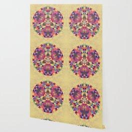 Tribal triangle mandala Wallpaper