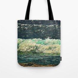 Ocean Close Up Tote Bag