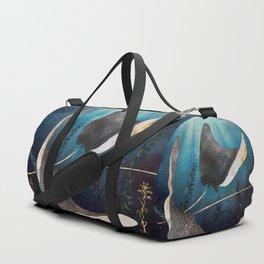 Metallic Stingray Duffle Bag