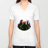 hocus pocus V-neck T-shirts featuring Hocus Pocus by Brieana