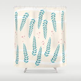 some kind of a pattern Shower Curtain