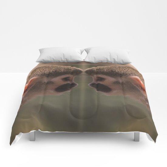 Mirror monkeys Comforters
