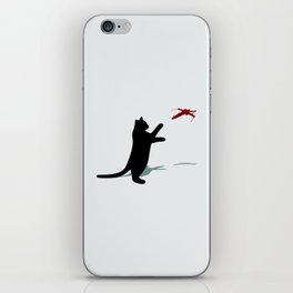 Cat and X-Wing iPhone Skin