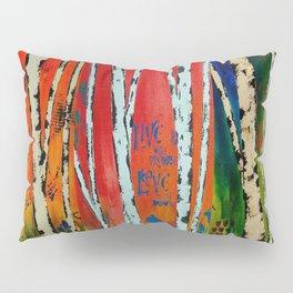 Birch Tree Stitch Pillow Sham