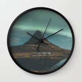 Kirkjufell, Iceland Wall Clock