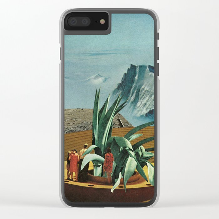 Elevated Observations 3 Clear iPhone Case