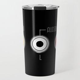 Plug in your mood! (Music + Video) Travel Mug