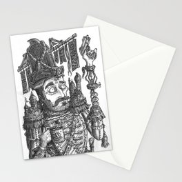 Duty officer Pelayo Manacámbioli Stationery Cards