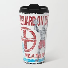 The Creature Lifeguard Is On Duty (2) Travel Mug