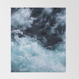 Lake Superior #4 Throw Blanket