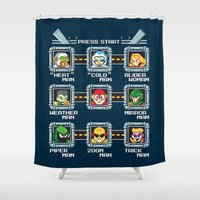 rogue Shower Curtains featuring Rogue Masters by thom2maro