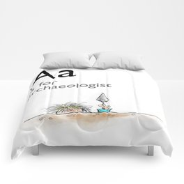 A is for Archaeology Comforters