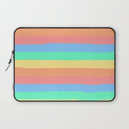 lumpy or bumpy lines abstract and summer colorful - QAB275 Laptop Sleeve