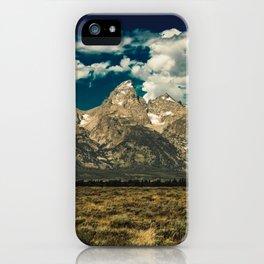 Mountain Summer Escape iPhone Case