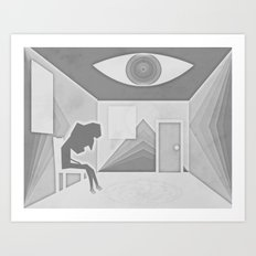 in a hidden place Art Print