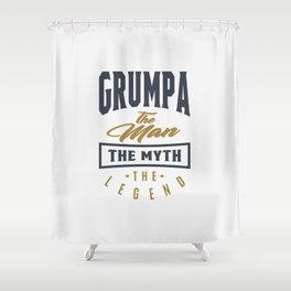 Gift for Grumpa Shower Curtain