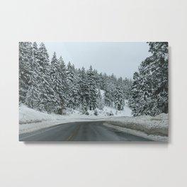 Tahoe Drive Metal Print