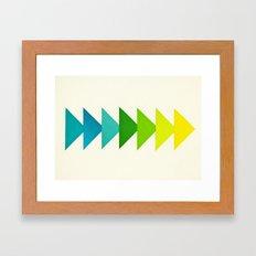 Arrows I Framed Art Print