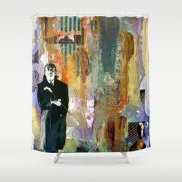 Hello Dalí Shower Curtain