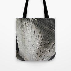 wisdom in stone. Tote Bag