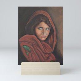 Chica Afgana Mini Art Print
