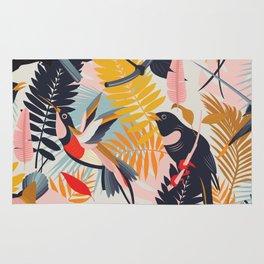 Paradise Birds II. Rug