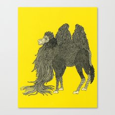 Yellow Camel Canvas Print